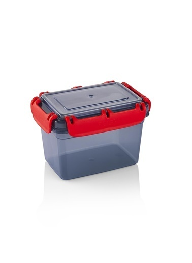 Schafer Green Plastik Saklama Kabı-1,3 LT-26378 Gri
